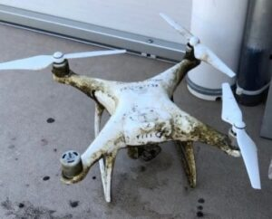 EGLE drone that lost confrontation with bald eagle plucked from bottom of Lake Michigan August 20, 2020