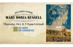 An evening with Mary Doria Russell Thursday October 8, 2020