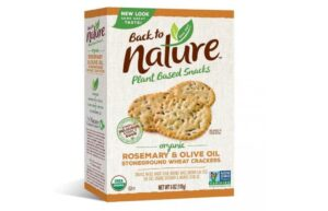 B&G Foods Issues Allergy Alert for Boxes of Back to Nature® Organic Rosemary & Olive Oil Stoneground Wheat Crackers October 9, 2020