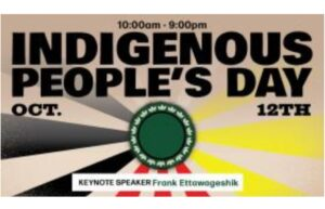Indigenous Peoples' Day at NMU October 12, 2020
