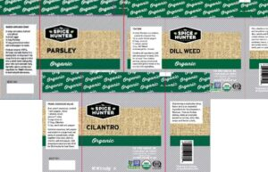 Sauer Brands, Inc. Recalls The Spice Hunter Products Because of Potential Salmonella Contamination October 12, 2020