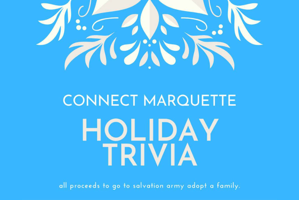 Attend the Connect Marquette Holiday Trivia Event to support the Salvation Army Adopt a Family program.