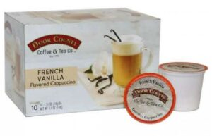 Door County Coffee & Tea Co Issues Allergy Alert on French Vanilla Flavored Cappuccino Single Serve Cups January 25, 2021