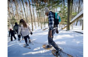 Tahquamenon Falls State Park Upper Falls guided snowshoe hike: Feb. 27, 2021