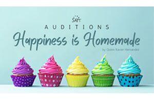 "SAYT ""Happiness is Homemade"" Auditions Deadline March 12, 2021"