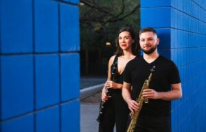 Clarinet-Sax Duo Performs Free Virtual Concert April 21, 2021