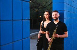 Clarinet-Sax Duo Performs Free Virtual Concert April 21, 2021