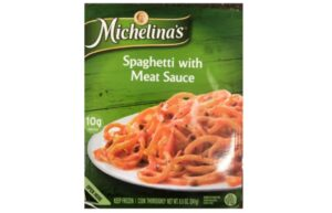 Michelina's Spaghetti with Meat Sauce Recalled May 6, 2021