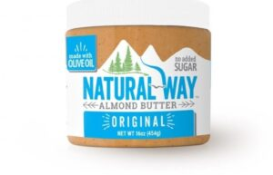 Natural Way Recalls Almond Butter Due to Undeclared Peanuts May 10, 2021