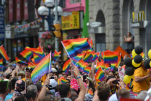 June is Pride Month! Celebrate with your friends and family in this LGBT+ promenade