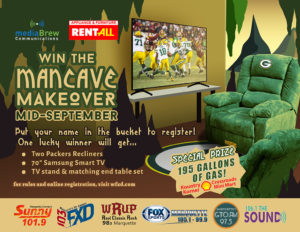 The Man Cave Makeover Giveaway by mediaBrew Communications
