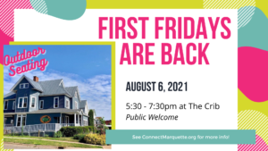 First Fridays are back!