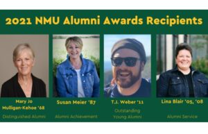 NMU Alumni Award Recipients Announced July 14, 2021