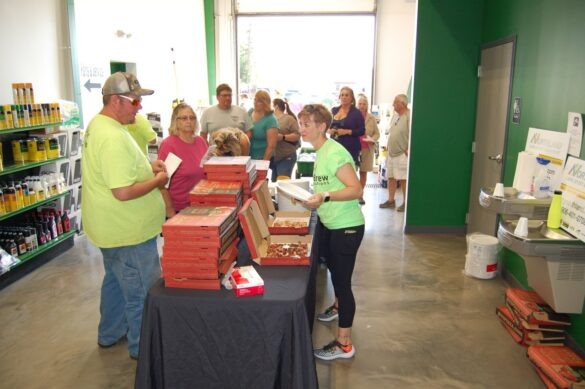 Jet's Pizza was a Hit at mediaBrew Runs Like A Deere Giveaway Party