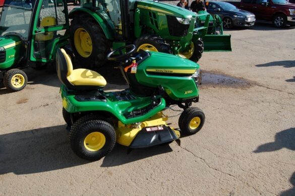Prize - John Deere x350 riding mower from Northland Lawn, Sport & Equipment