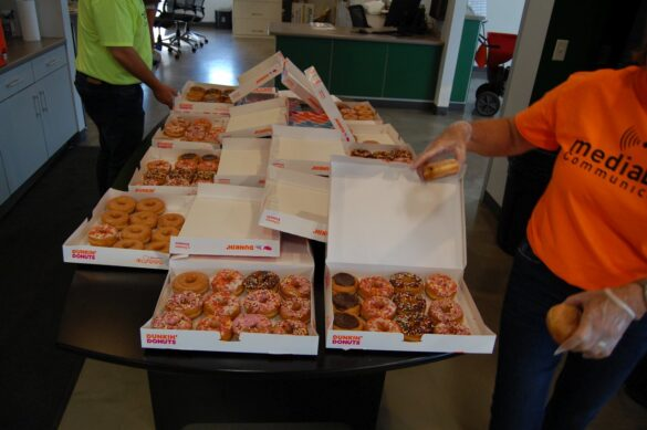 Dunkin' Donuts at mediaBrew Runs Like A Deere Giveaway Party