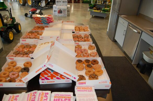 A Year Suppy of Dunkin' Donuts - One of the Prizes - mediaBrew Runs Like A Deere Giveaway