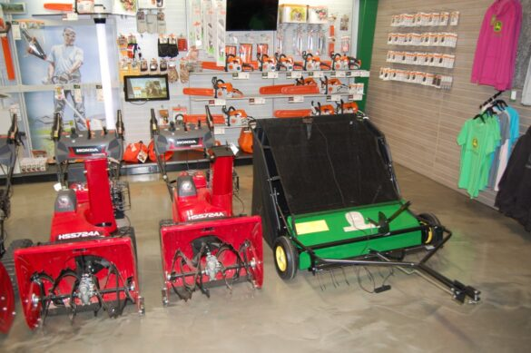 Northland Lawn, Sport & Equipment - 8:00 a.m. to 5 p.m. Monday through Friday and 8:00 a.m. to 12:00 p.m. on Saturdays