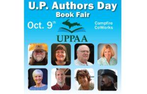4th U.P. Authors Day Book Fair in Marquette October 9, 2021