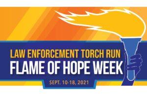 NMU Hosts Law Enforcement Torch Run September 14, 2021